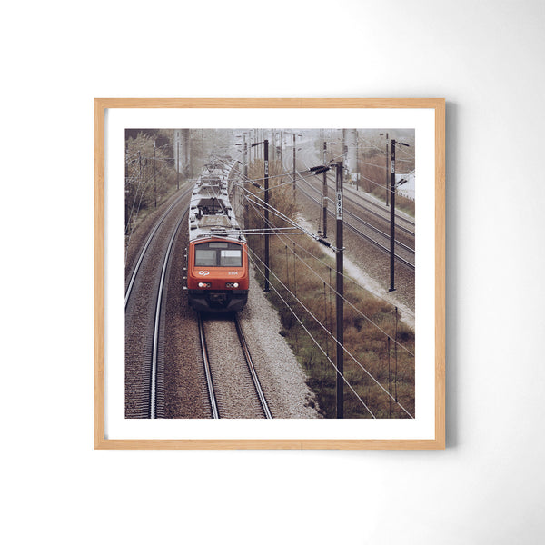 Morning Train - Art Prints by Post Collective - 3