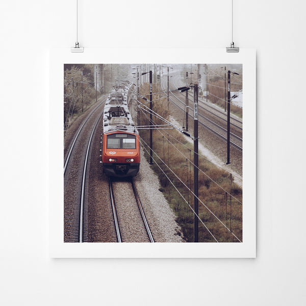 Morning Train - Art Prints by Post Collective - 2