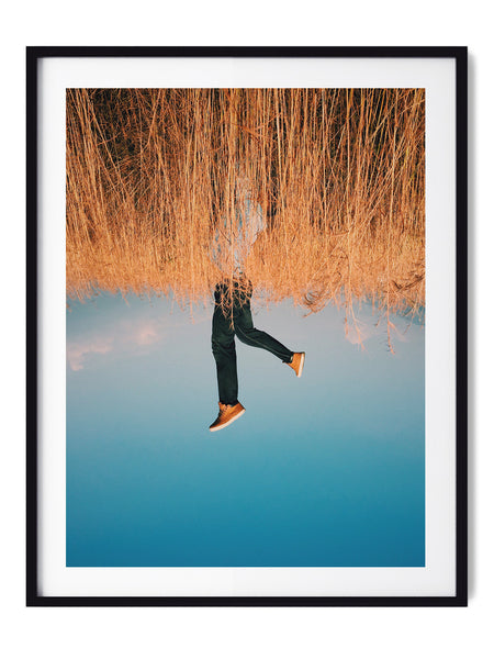 My World Is Upside Down - Art Prints by Post Collective - 1
