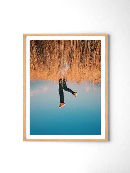 My World Is Upside Down - Art Prints by Post Collective - 3