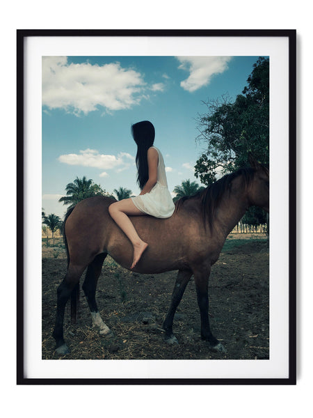 Mysterious Girl - Art Prints by Post Collective - 1