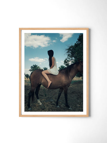 Mysterious Girl - Art Prints by Post Collective - 3