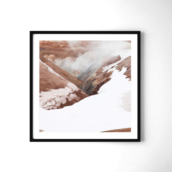 Námaskarð - Art Prints by Post Collective - 2