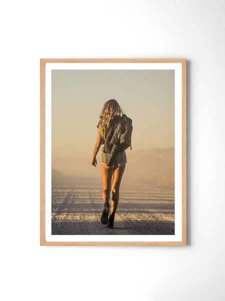 Never Look Back - Art Prints by Post Collective - 3