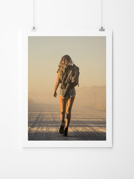 Never Look Back - Art Prints by Post Collective - 2
