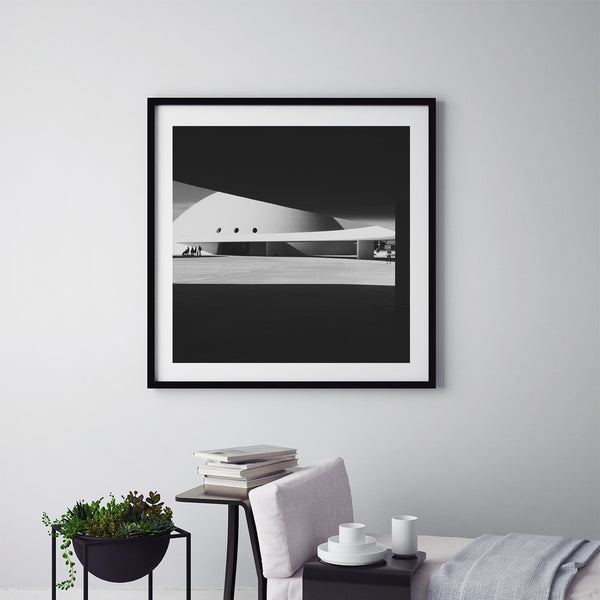Niemeyer Center - Art Prints by Post Collective - 5