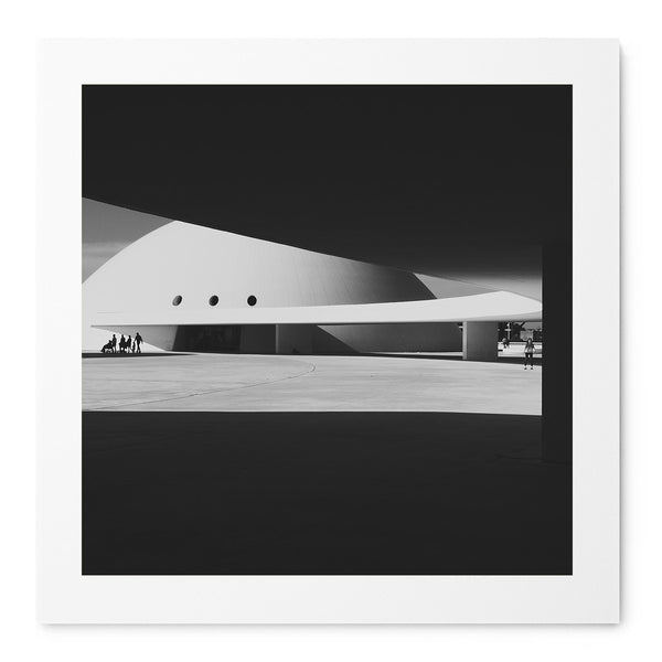 Niemeyer Center - Art Prints by Post Collective - 1