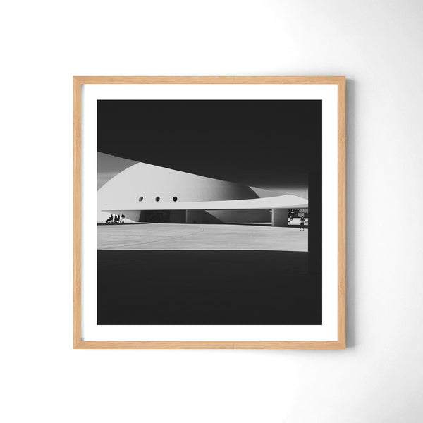 Niemeyer Center - Art Prints by Post Collective - 3