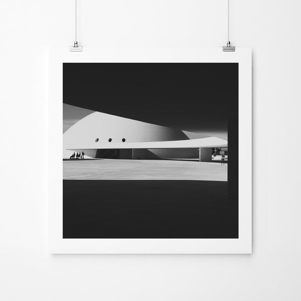Niemeyer Center - Art Prints by Post Collective - 2