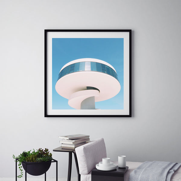Niemeyer Tower - Art Prints by Post Collective - 5