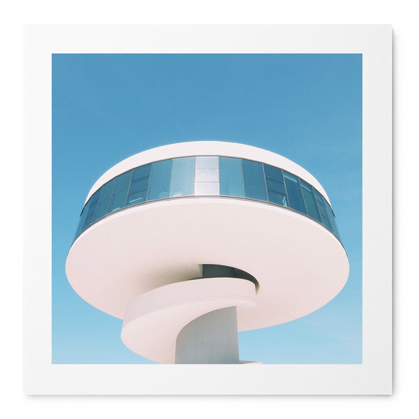 Niemeyer Tower - Art Prints by Post Collective - 1