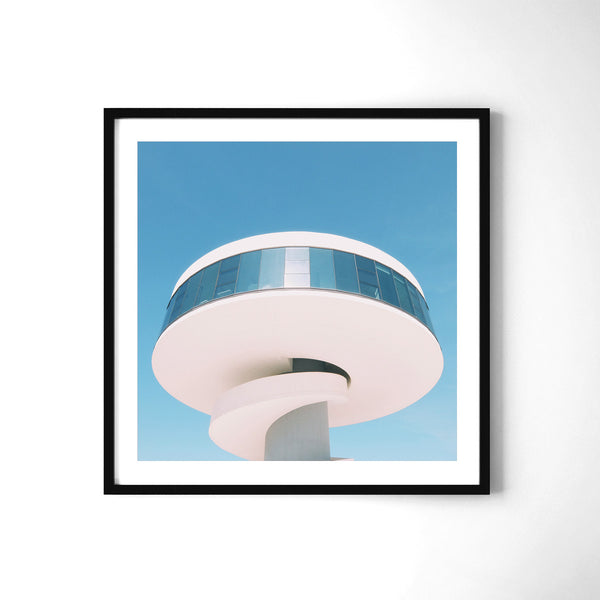 Niemeyer Tower - Art Prints by Post Collective - 2