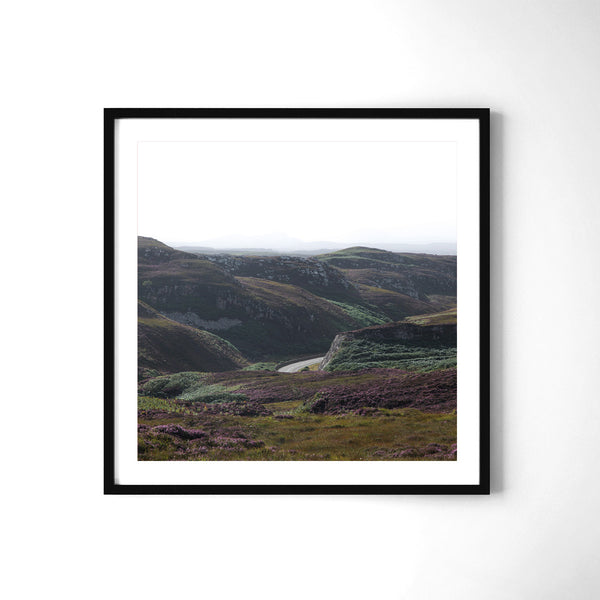 Northwest Roads - Art Prints by Post Collective - 2