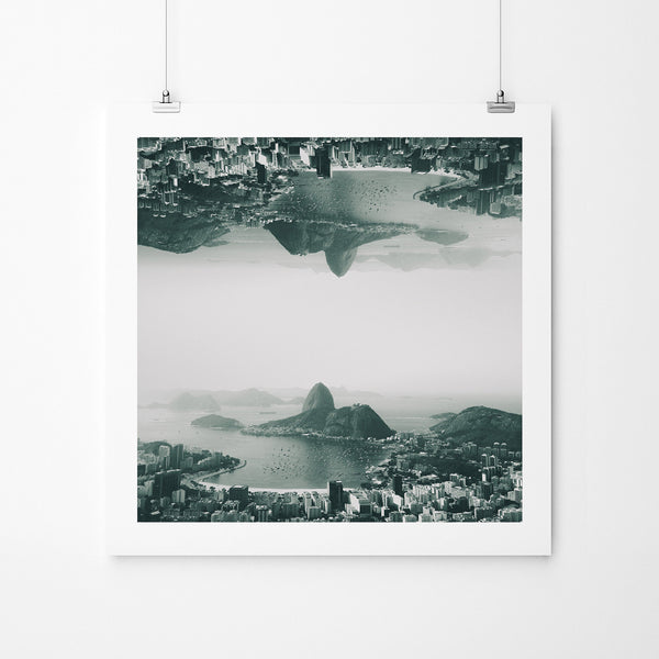 Novos Horizontes 03 - Art Prints by Post Collective - 2