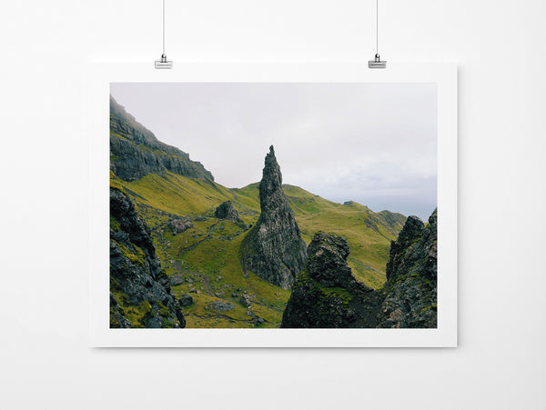 Old Man Of Storr - Art Prints by Post Collective - 2
