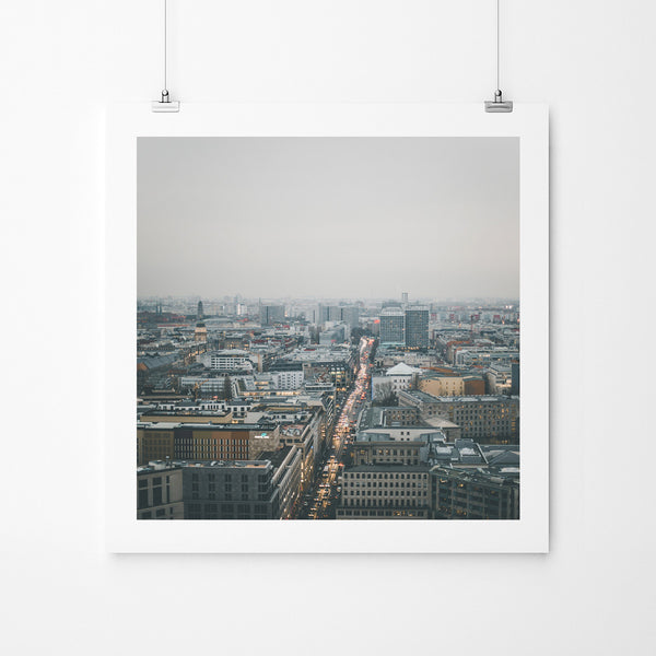 On The Top Of The Top - Art Prints by Post Collective - 2
