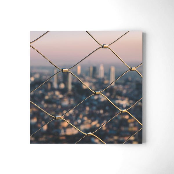 On Top Of Instanbul - Art Prints by Post Collective - 2