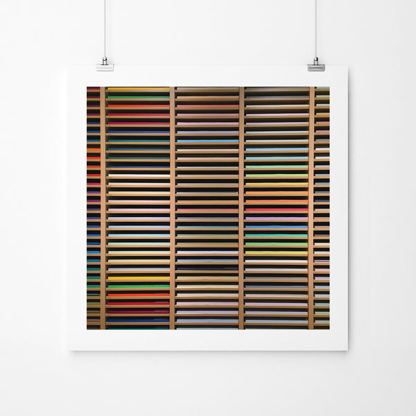 Paper Heaven - Art Prints by Post Collective - 2