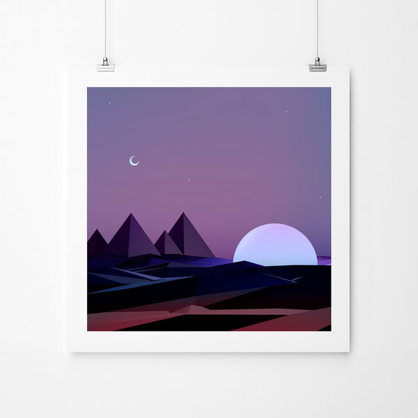 Pharos - Art Prints by Post Collective - 2