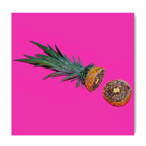 Pineapple Donuts - Art Prints by Post Collective - 1