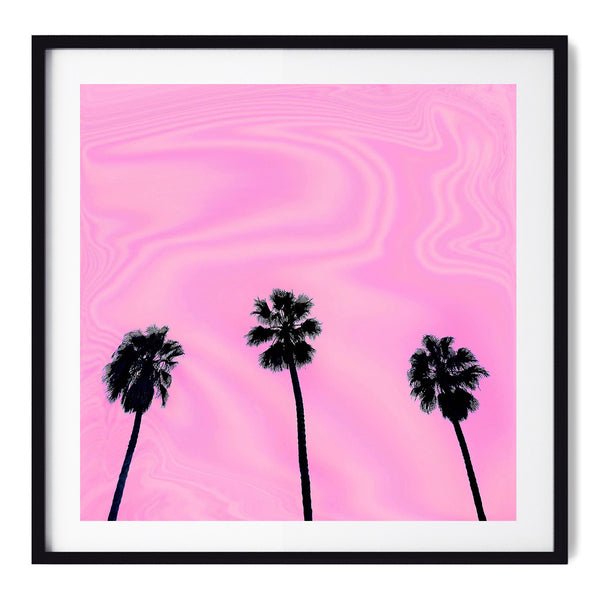 Pink Day - Art Prints by Post Collective - 1
