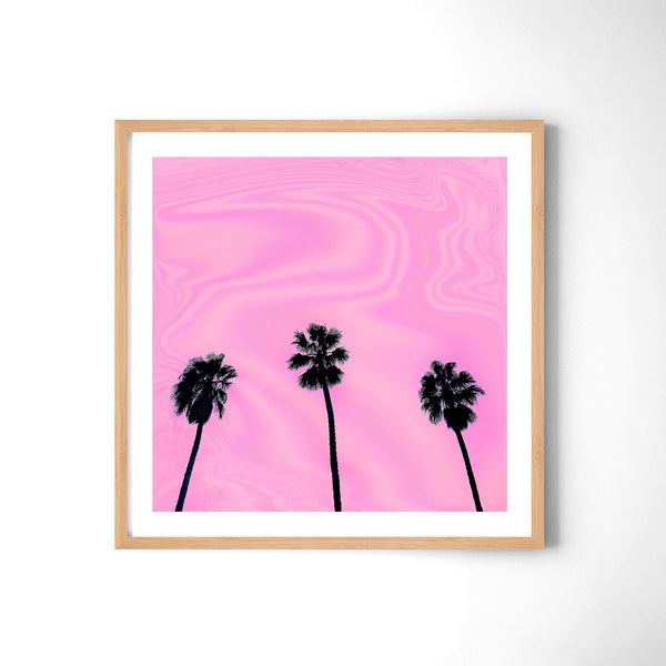 Pink Day - Art Prints by Post Collective - 3
