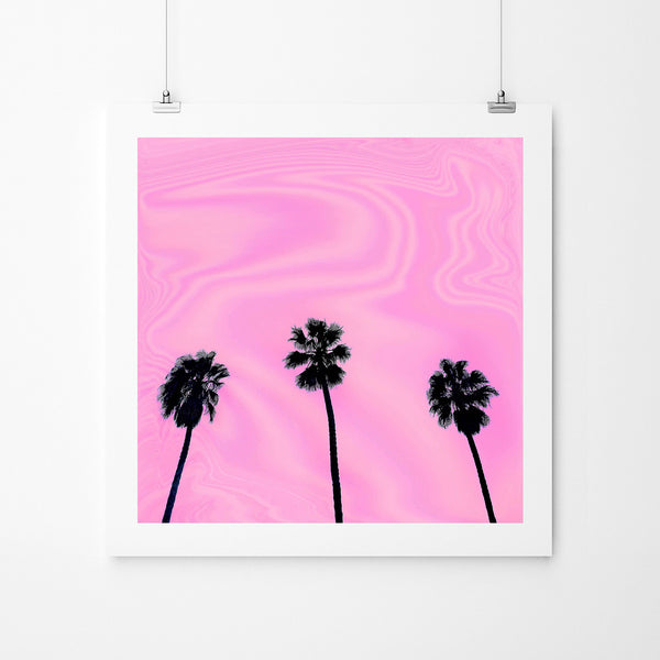 Pink Day - Art Prints by Post Collective - 2