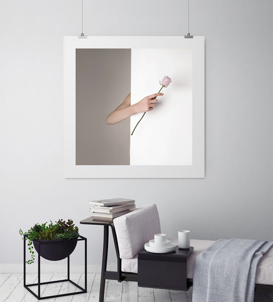 Pink Rose - Art Prints by Post Collective - 3