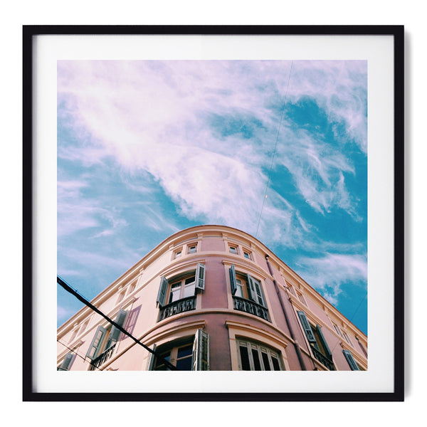 Pink vs. The Sky - Art Prints by Post Collective - 1