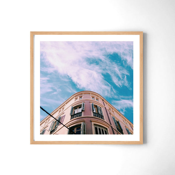 Pink vs. The Sky - Art Prints by Post Collective - 3