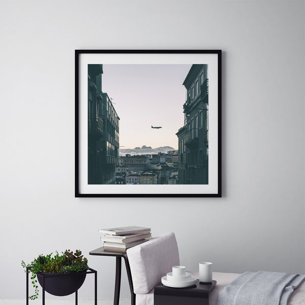 Plane Watching In Lisbon - Art Prints by Post Collective - 5