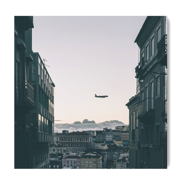 Plane Watching In Lisbon - Art Prints by Post Collective - 1