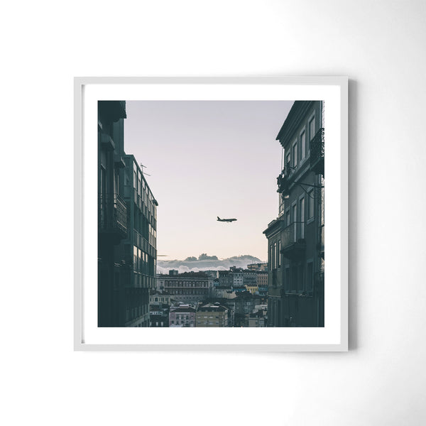 Plane Watching In Lisbon - Art Prints by Post Collective - 4