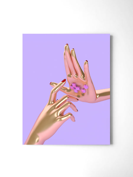 Playing Yourself - Art Prints by Post Collective - 2
