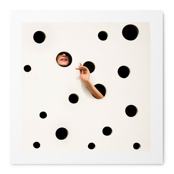 The Polkadot Wall - Art Prints by Post Collective - 1