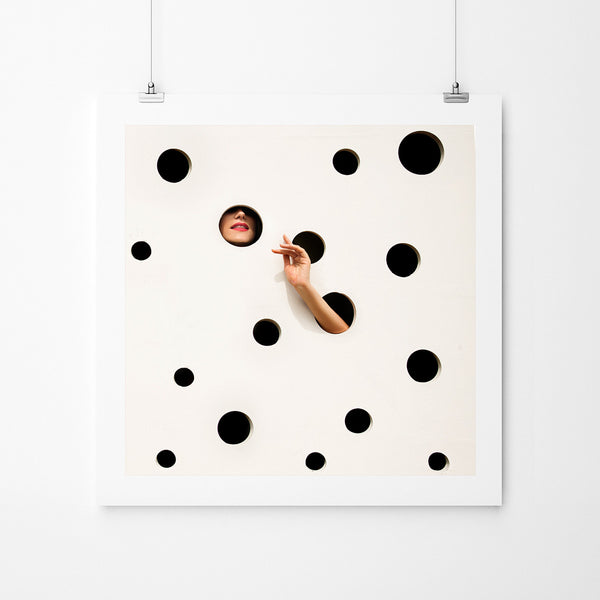 The Polkadot Wall - Art Prints by Post Collective - 2