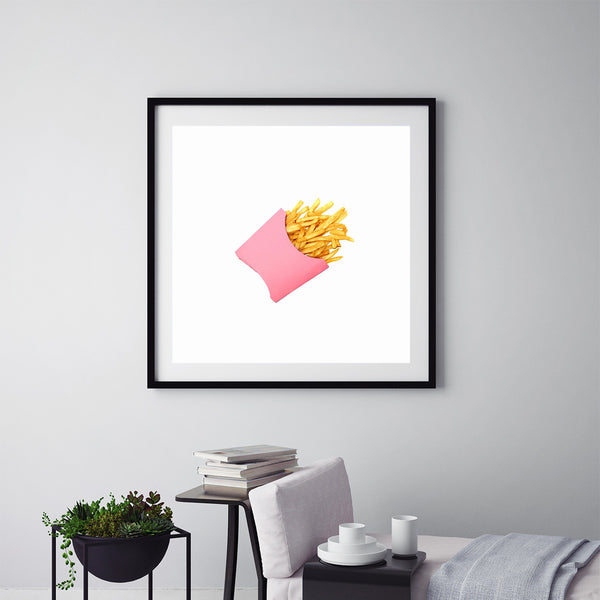 Potato Chips Pink - Art Prints by Post Collective - 5