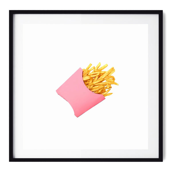 Potato Chips Pink - Art Prints by Post Collective - 1