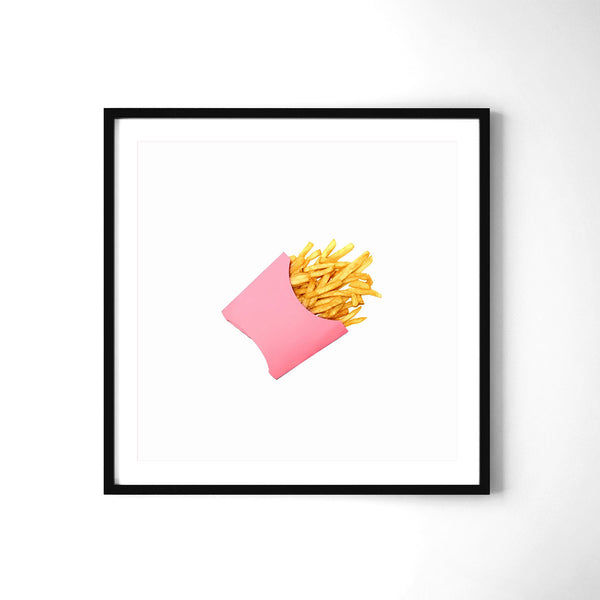 Potato Chips Pink - Art Prints by Post Collective - 2