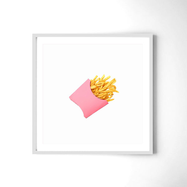 Potato Chips Pink - Art Prints by Post Collective - 4