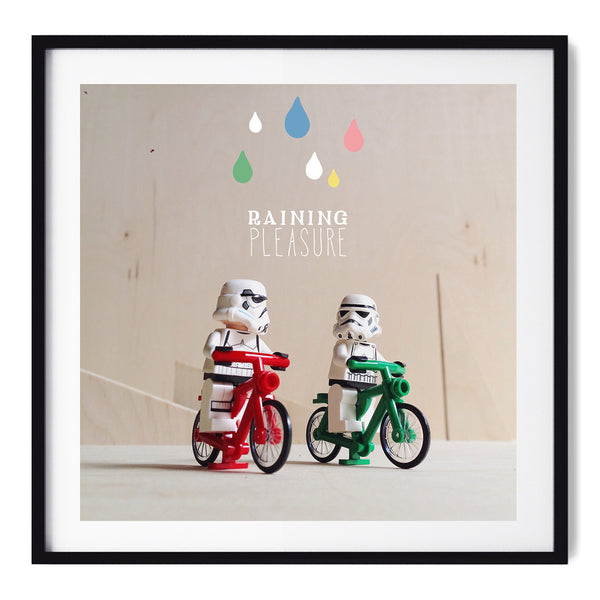 Raining Pleasure - Art Prints by Post Collective - 1