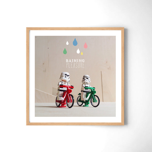 Raining Pleasure - Art Prints by Post Collective - 3