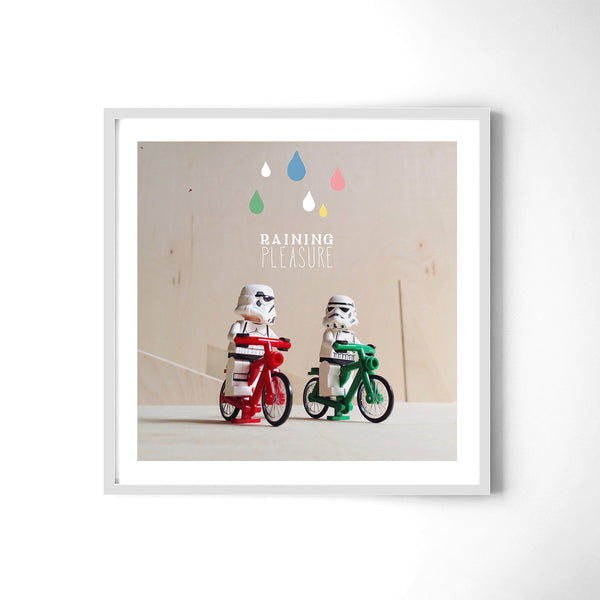 Raining Pleasure - Art Prints by Post Collective - 4