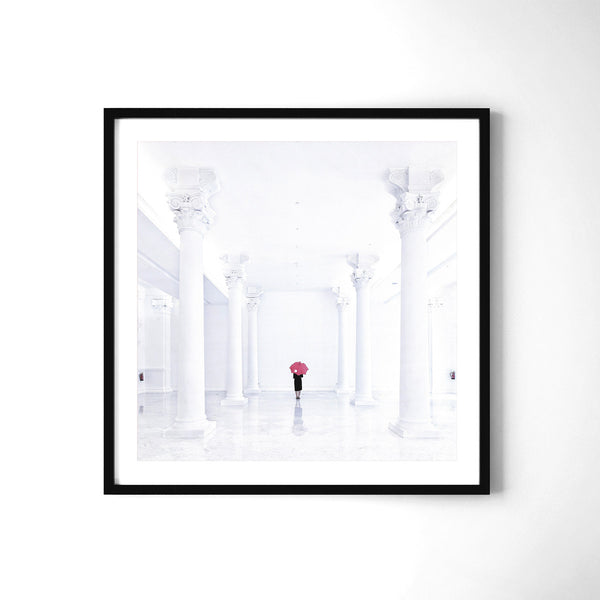 Red Spot - Art Prints by Post Collective - 2