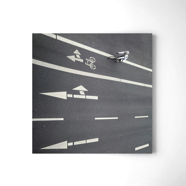 Riding The Wall - Art Prints by Post Collective - 2