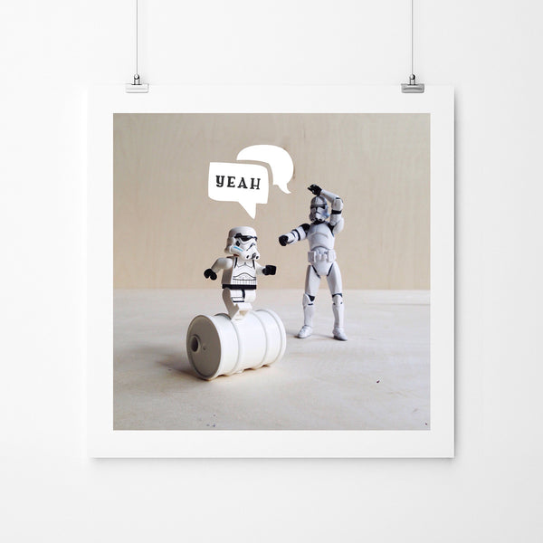 Rolling Joy - Art Prints by Post Collective - 2