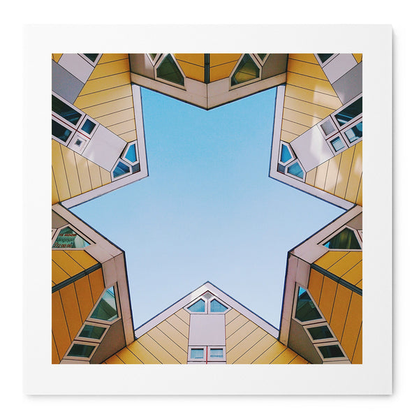 Rotterdam Star - Art Prints by Post Collective - 1