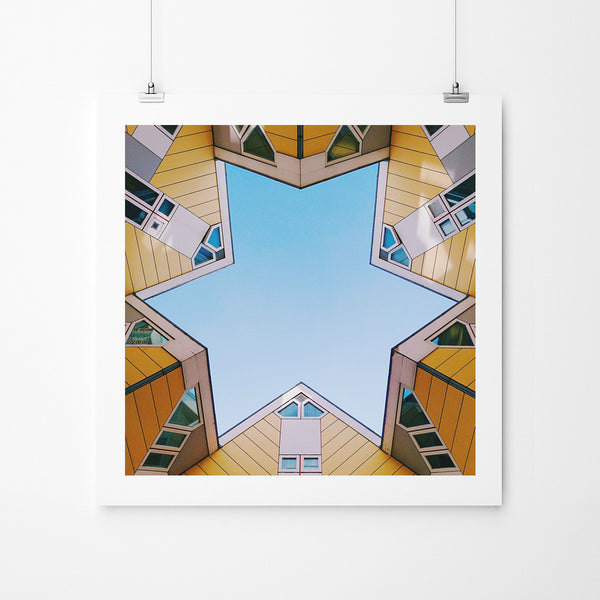 Rotterdam Star - Art Prints by Post Collective - 2