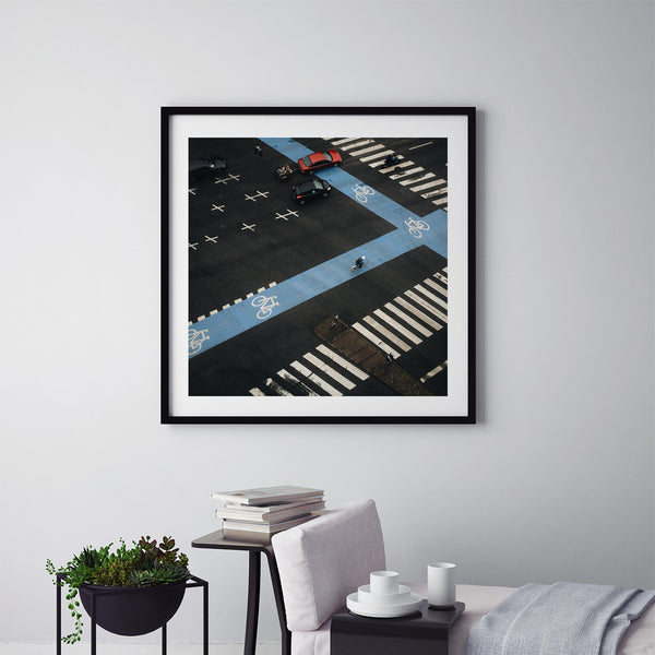 Rush Hour Traffic in Copenhagen - Art Prints by Post Collective - 5