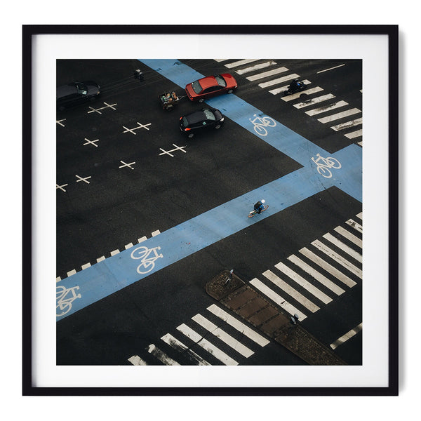 Rush Hour Traffic in Copenhagen - Art Prints by Post Collective - 1